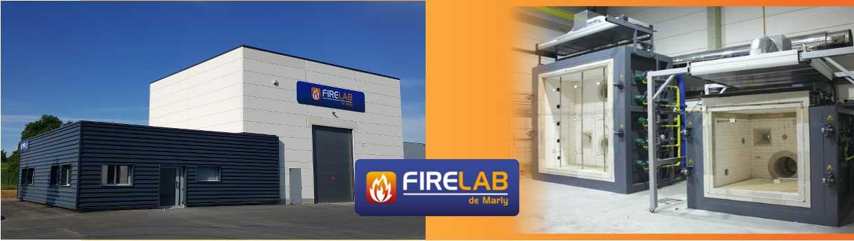 Nouveau Laboratoire d'essais au feu