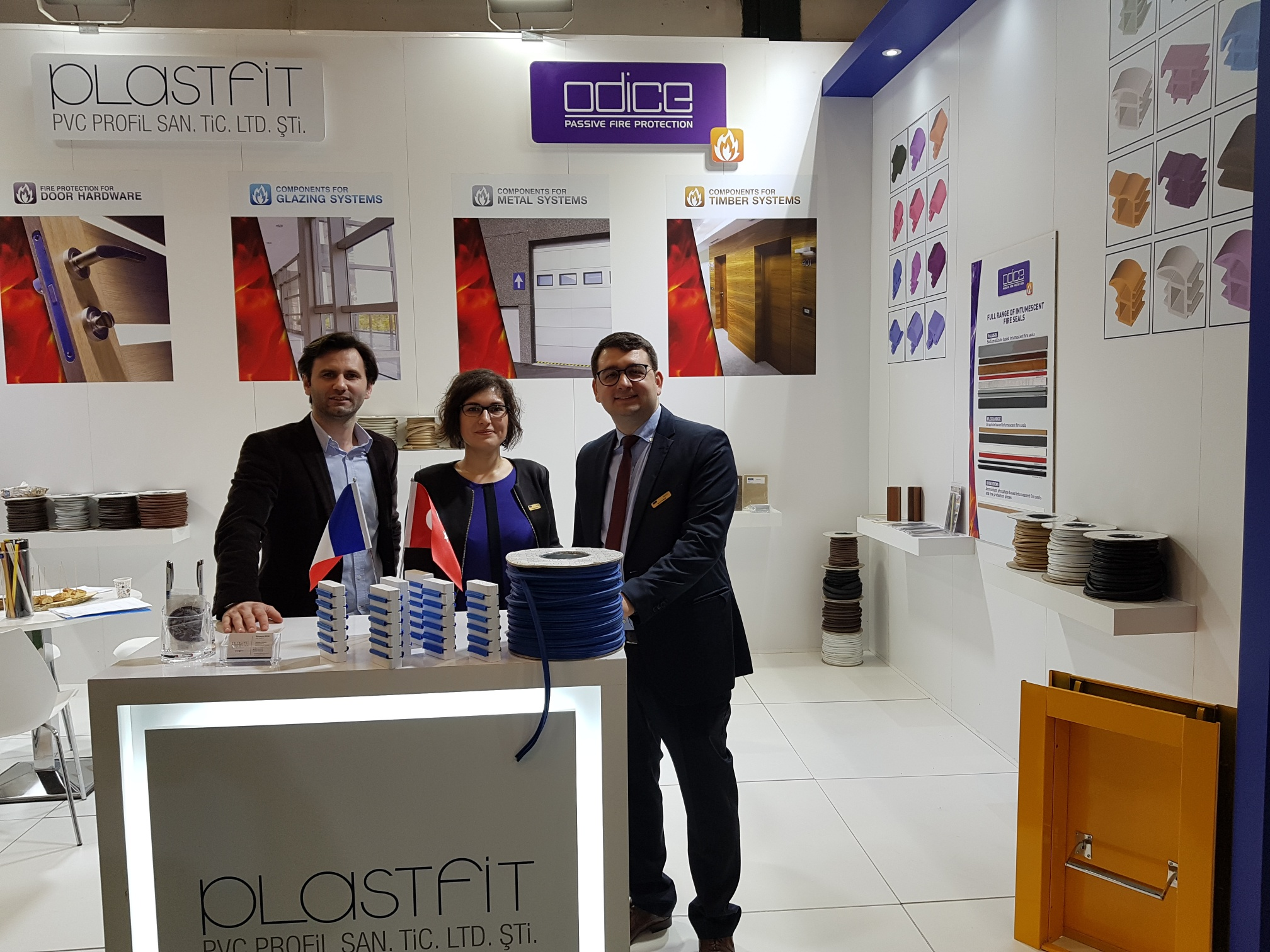 Meet ODICE and our distributor in Turkey at Eurasia Door 2019